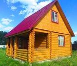 Бревенчатый дом с участком 12 соток - Фото 1