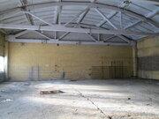 Производство-склад потолки 6м пандус, охрана