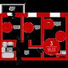 3 220 000 Руб., Продажа квартиры, Тюмень, Ул. Тимофея Чаркова, Купить квартиру в Тюмени по недорогой цене, ID объекта - 320237636 - Фото 1