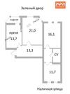 Продажа квартиры, м. Приморская, Наличная ул. 48, Купить квартиру в Санкт-Петербурге по недорогой цене, ID объекта - 319252916 - Фото 2