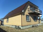 Жилой дом 144 кв.м. на уч. 20 сот возле пруда в д. Шабушево, Талдомск - Фото 1