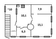 Продам 3х комнатную квартиру Саратов, ул. им. Зарубина В.С. (Сенной) - Фото 1