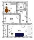 2-к квартира, ул. Георгиева, 57, Продажа квартир в Барнауле, ID объекта - 333077812 - Фото 13