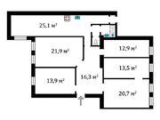 11 996 000 Руб., Продам 5-к. квартиру 129,6 кв.м с большой кухней рядом с метро на В.О., Купить квартиру в Санкт-Петербурге по недорогой цене, ID объекта - 324683053 - Фото 21