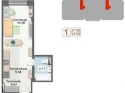 Продам 1 комн. в Октябрьском районе, Купить квартиру в Красноярске по недорогой цене, ID объекта - 322657017 - Фото 1