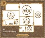 3 ком Баумана 7, Купить квартиру в Красноярске по недорогой цене, ID объекта - 329376346 - Фото 18