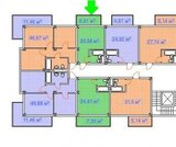 Адлер, студия 26кв.м. в районе Олимпийского парка, Купить квартиру в Сочи по недорогой цене, ID объекта - 321582812 - Фото 2