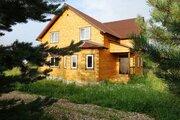 Новый дом из бруса 180 кв.м в жилой деревне в 85 км от МКАД