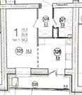 1-комнатная квартира в Дубне новостройка на Левом берегу - Фото 1