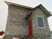 Кирпичная коробка дома с гаражом и окнами в Разумное - Фото 5