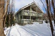 Новый дом 190 кв.м из бревна в лесу, все коммуникации, в 87 км от МКАД