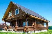 Рубленый дом в деревне Бережки на 14 сотках - Фото 2