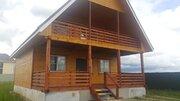 Новый деревянный дом в д.Аленино на 14 сотках