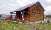 Дом, баня и хоз блок на участке 9 соток в д. Кравцово - Фото 1