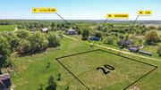 Земельный участок 20 соток, ИЖС, в д. Крыцыно, Дзержинского района - Фото 4