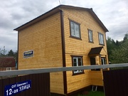 Новый дачный дом в черте г.Киржач, в окружении леса, около озера