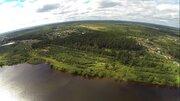 Эксклюзивный участок 459 соток, ИЖС, на первой линии реки Волга