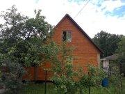 Брусовой теплый дом. СНТ Березка-1, Климовск, Подольск - Фото 1