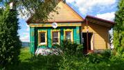 Брусовой дом в деревне