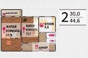 1 570 000 Руб., Продажа квартиры, Волгоград, Ул. 50 лет Октября, Купить квартиру в Волгограде по недорогой цене, ID объекта - 319371745 - Фото 1