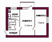 Продается 2 комнатная квартира Куйбышевский район Самара, Соцгород,, Продажа квартир в Самаре, ID объекта - 330963982 - Фото 1
