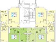 Продам 2-к квартиру, Звенигород город, микрорайон Восточный 9, Купить квартиру в новостройке от застройщика в Звенигороде, ID объекта - 327960923 - Фото 1