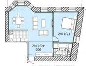 58 220 000 Руб., Самая бюджетная двухкомнатная квартира в ЖК Полянка/44, Купить квартиру в новостройке от застройщика в Москве, ID объекта - 333299638 - Фото 4