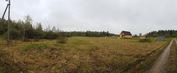 Участок 12 сот. в Контемирово, (Дорохово) под садоводство, свет, забор - Фото 1