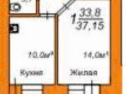 Продажа однокомнатной квартиры в новостройке на улице Пушкина, 108 в ., Купить квартиру в Благовещенске по недорогой цене, ID объекта - 319714799 - Фото 1