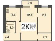 Продается 2к.кв. на ул. Федосеенко, 2/5эт кирпичного дома, рядом с в/ч, Продажа квартир в Нижнем Новгороде, ID объекта - 321075433 - Фото 4
