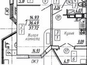 Продажа однокомнатной квартиры в новостройке на улице Артамонова, 34 в ., Купить квартиру в Воронеже по недорогой цене, ID объекта - 320571968 - Фото 1