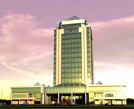 Бизнес-центры Астана - Бизнес центр «Ансар», г. Астана, ул. Айманова, 66 - Фото 1
