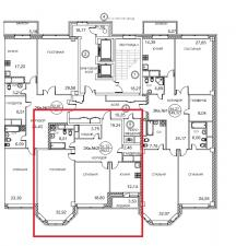 "ЖК ""Royal House on Yauza""-99,3кв.м, 6этаж,7 секция"